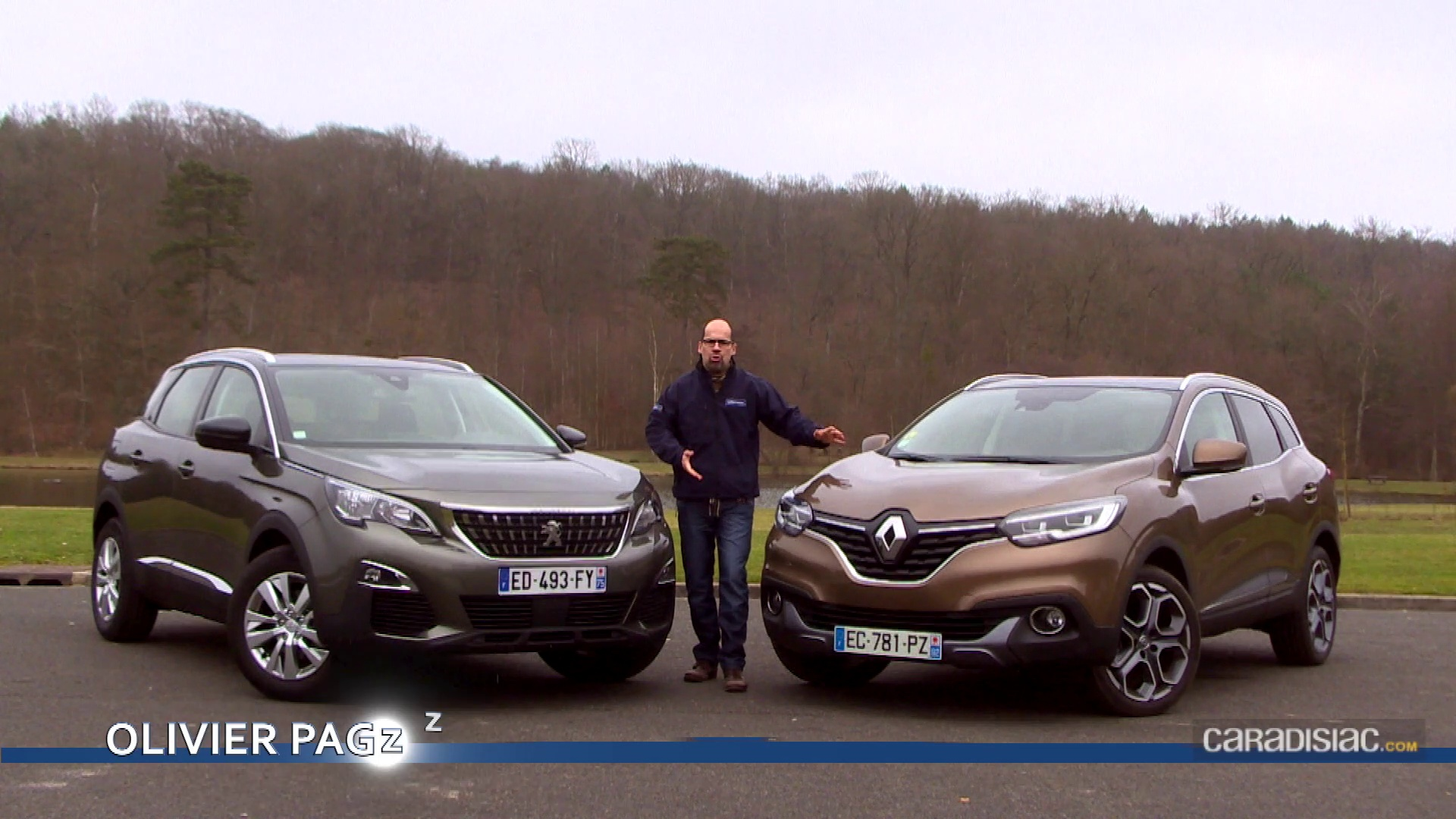 comparatif 3008 vs kadjar