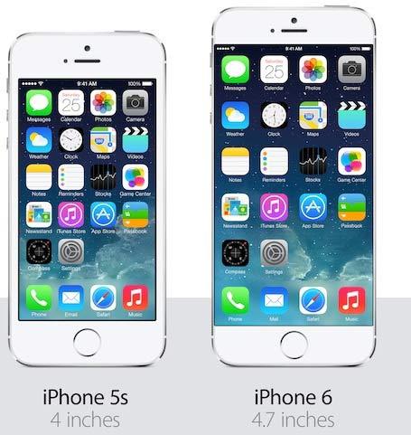 comparatif 5 et 5s