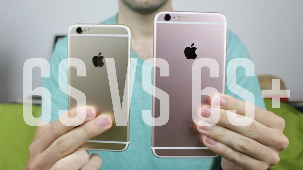 comparatif 6 et 6s