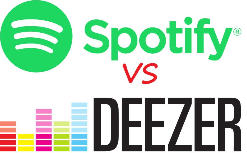 comparatif deezer spotify