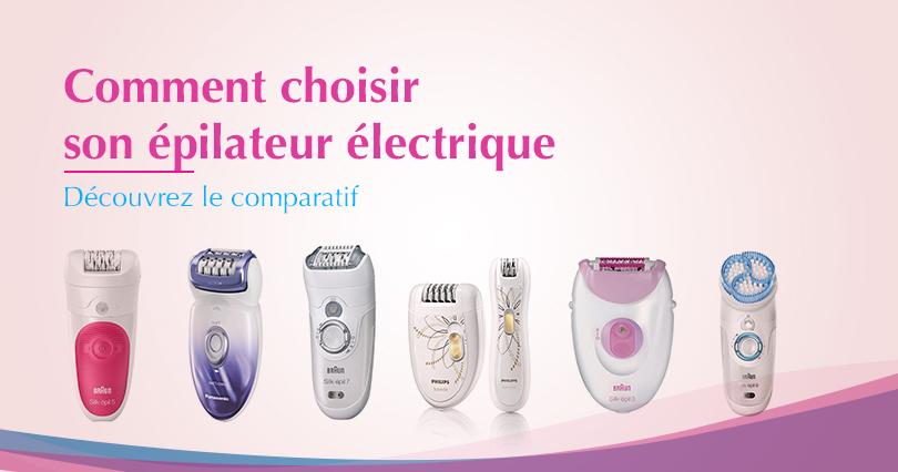 comparatif epilateurs electriques