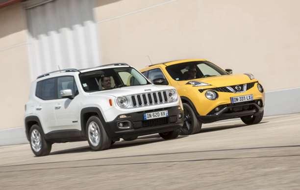 comparatif jeep renegade