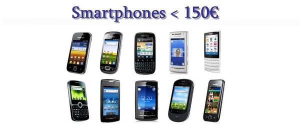 comparatif smartphone pas cher
