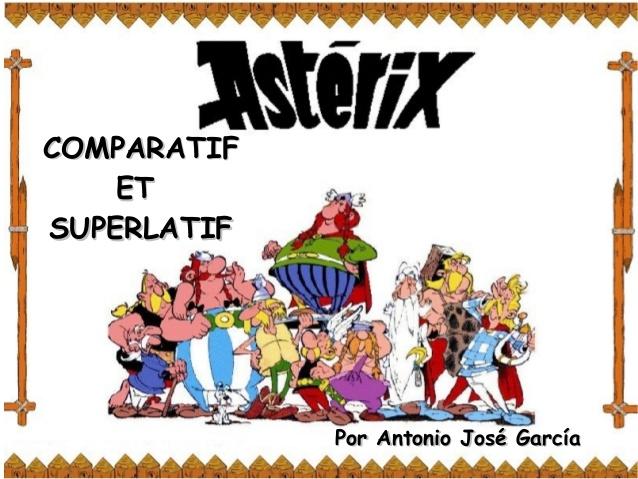 comparatif superlatif