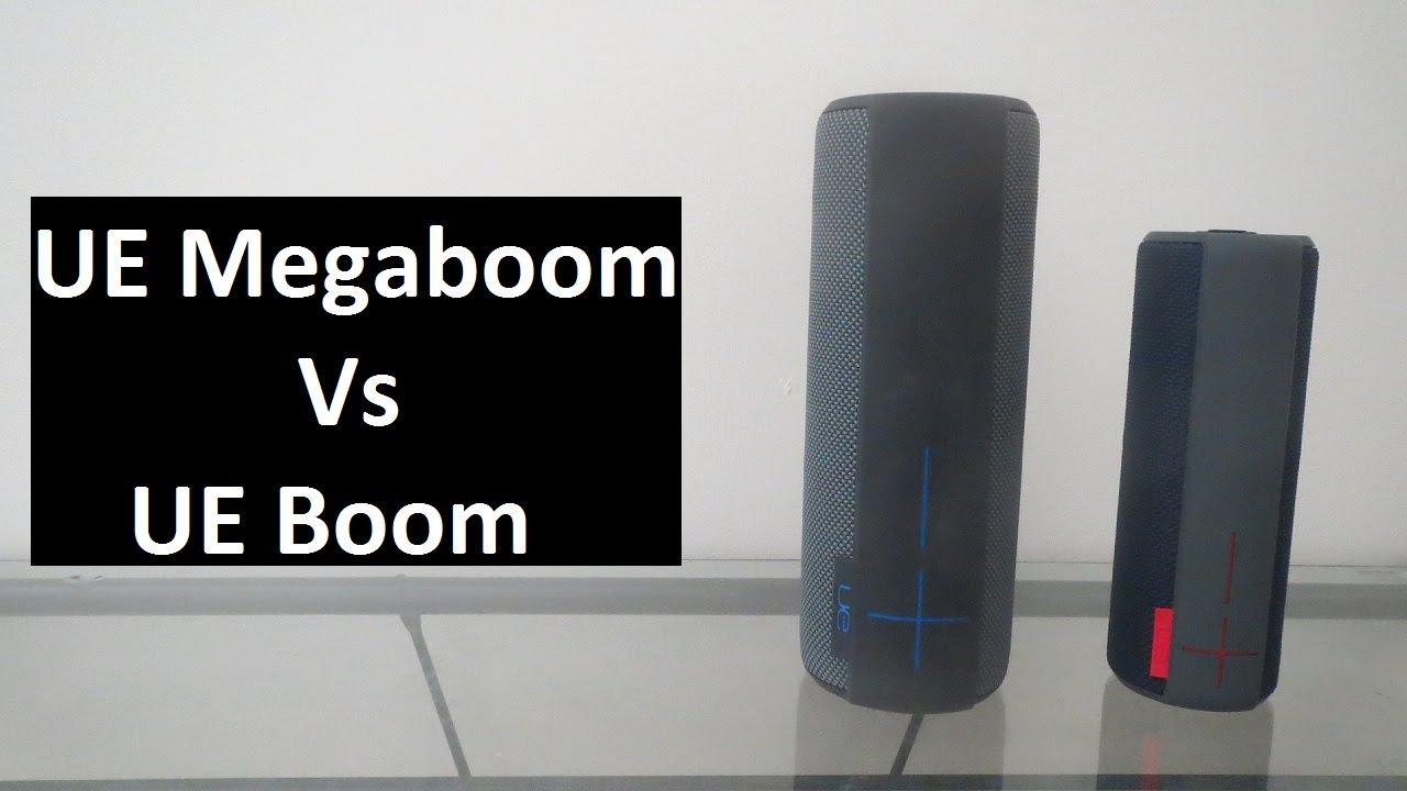 comparatif ue boom 2 et megaboom