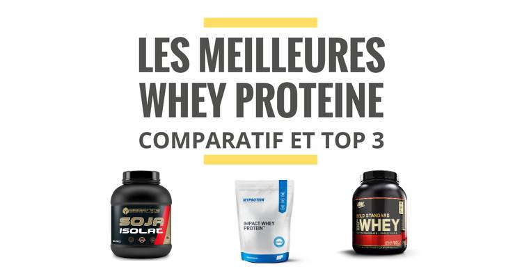 comparatif whey proteine