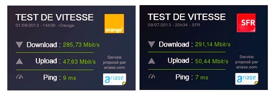 test de debit orange