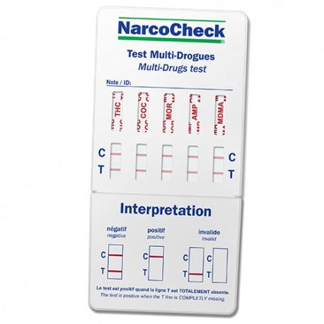 test de drogue