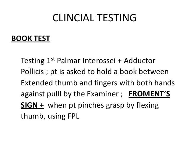 test de froment