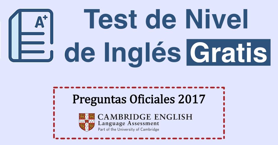 test de ingles