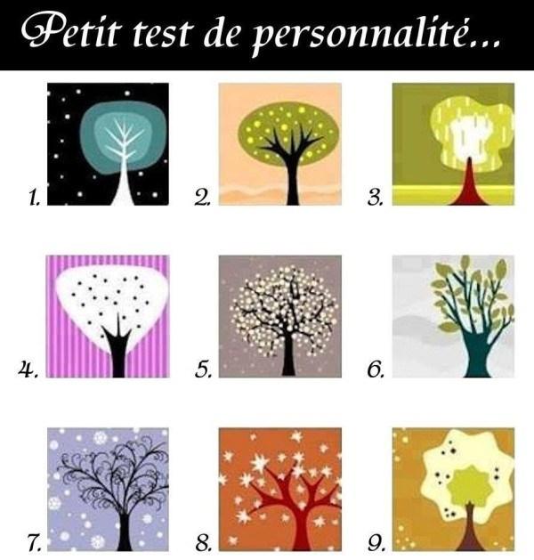 test de la personnalite