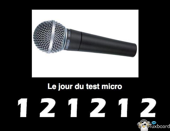 test de micro