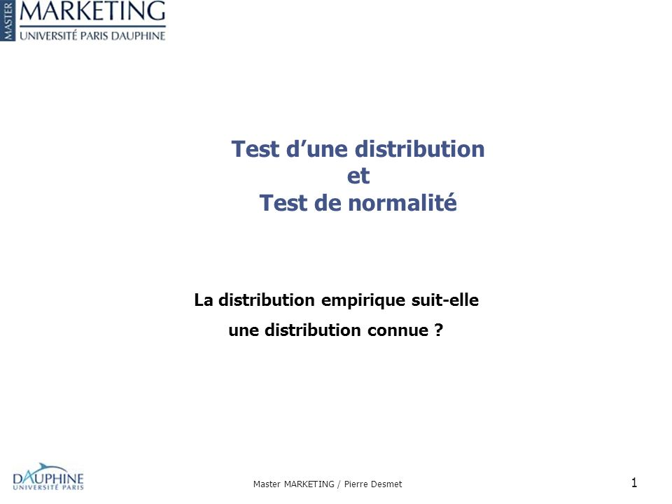 test de normalite en ligne