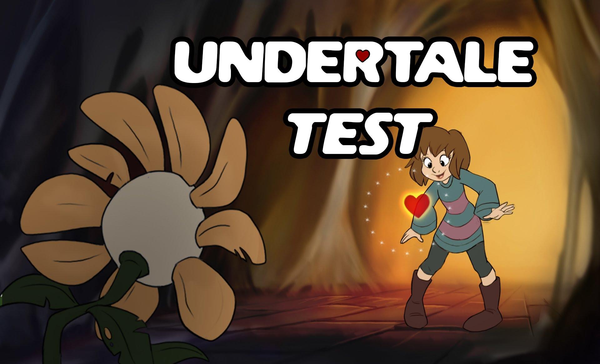test de undertale
