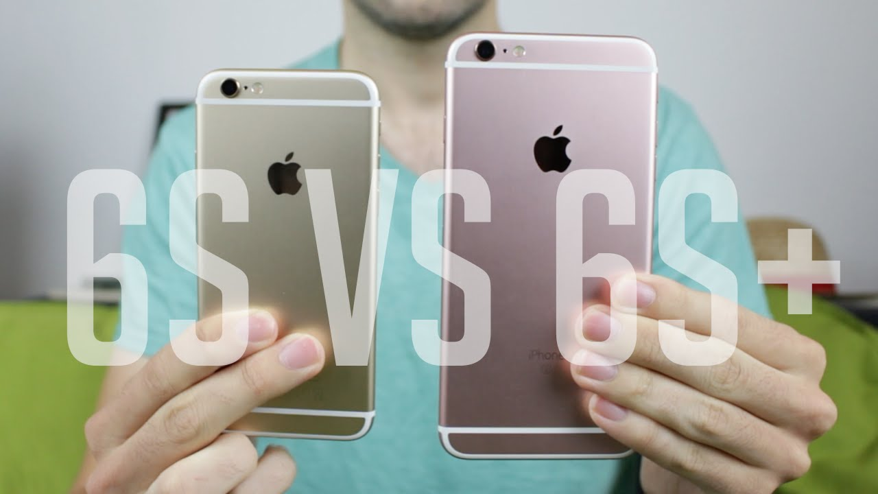 comparatif 6 vs 6s