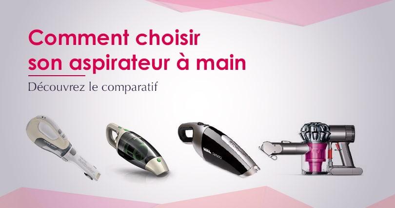 comparatif aspirateur a main sans fil