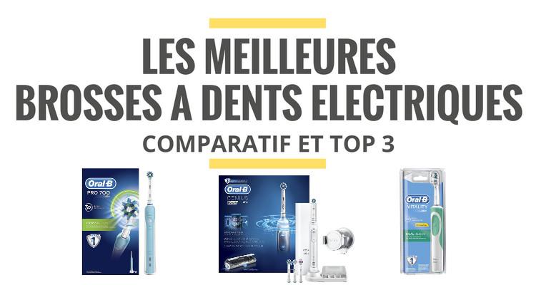 comparatif brosse a dent electrique