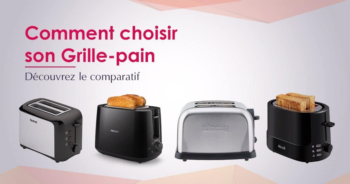 comparatif grille pain