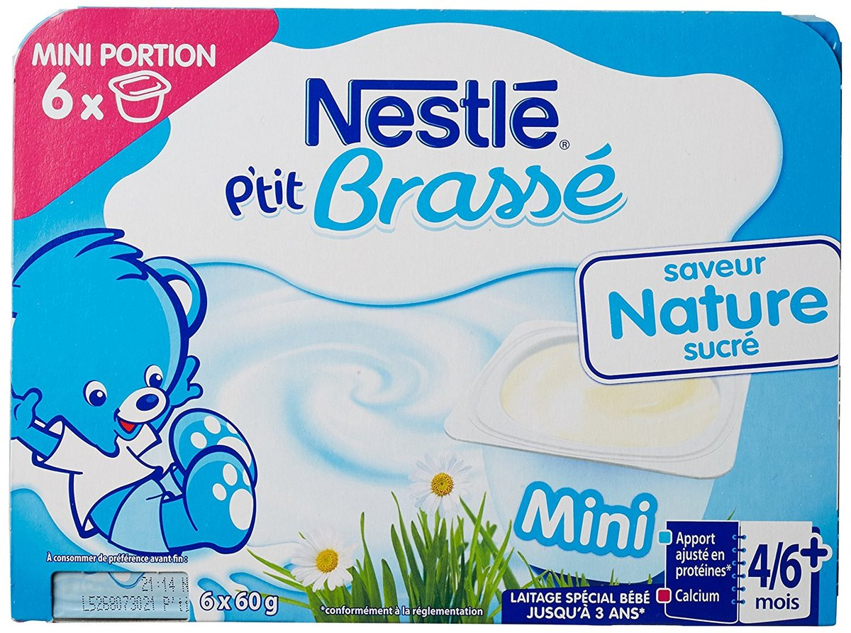 comparatif yaourt bebe