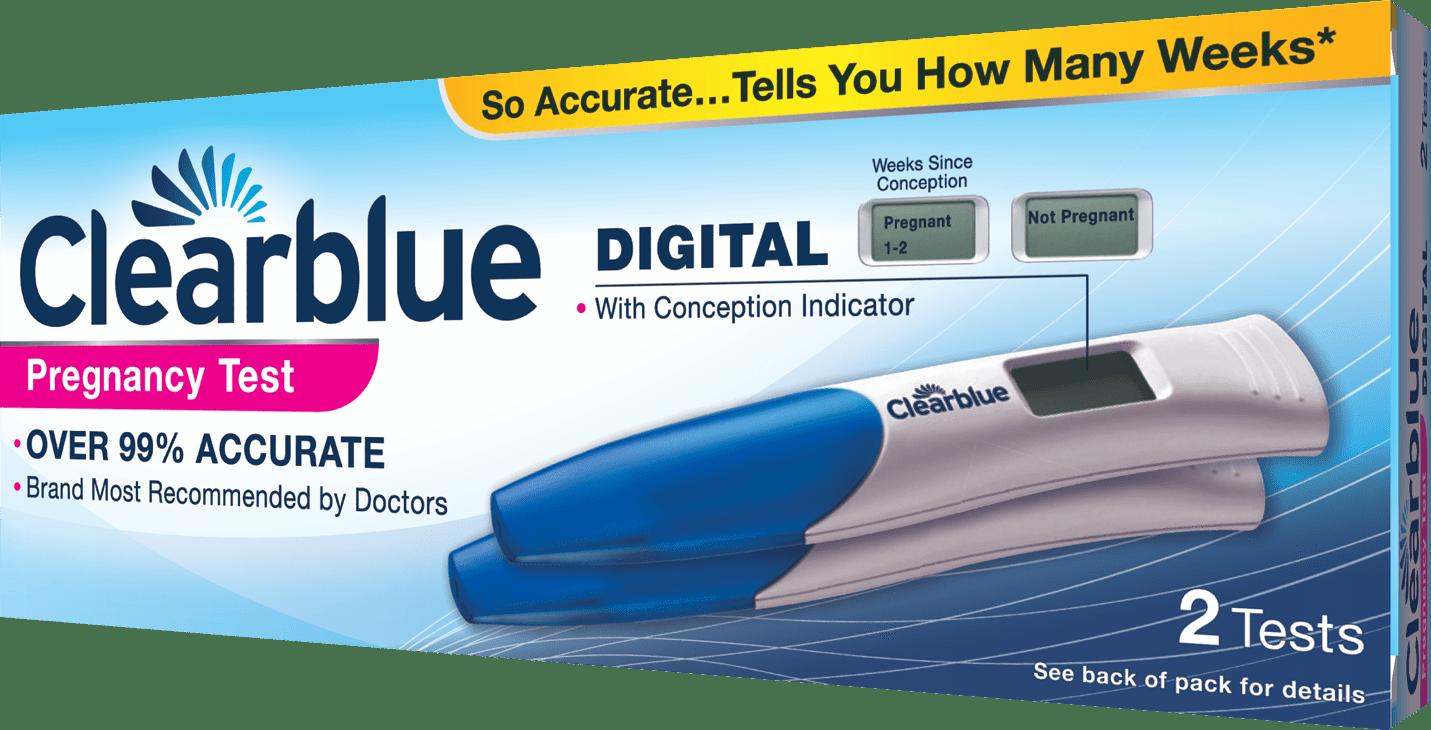 test de grossesse clearblue