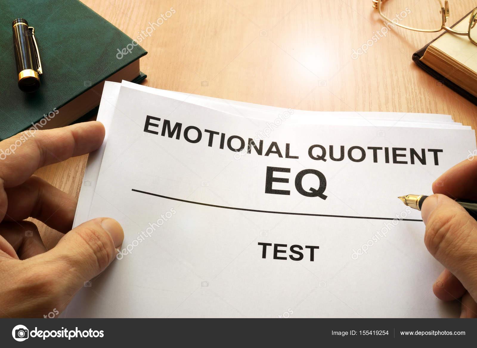 test de quotient emotionnel
