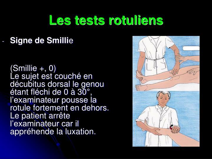 test de smillie